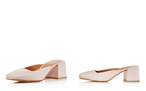LoQ Women's Leather Square Heel Mules - Bloomingdale's_2