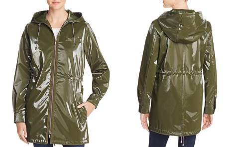 Jane Post London Shiny Raincoat - Bloomingdale's_2