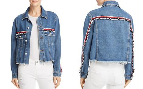 Sunset + Spring Ruffled Denim Jacket - 100% Exclusive - Bloomingdale's_2