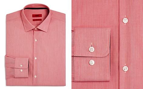 HUGO Fine Line Regular Fit Dress Shirt - Bloomingdale's_2