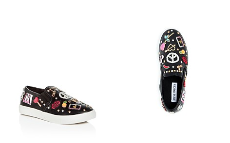Steve Madden Girls' Appliqué Slip-On Sneakers - Little Kid, Big Kid - Bloomingdale's_2