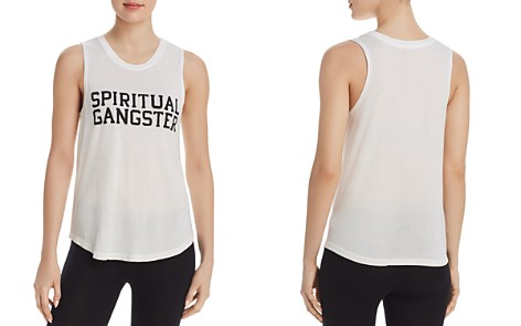 Spiritual Gangster Varsity Logo Muscle Tank - Bloomingdale's_2