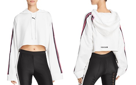 FENTY Puma x Rihanna Cropped Hooded Sweatshirt - Bloomingdale's_2