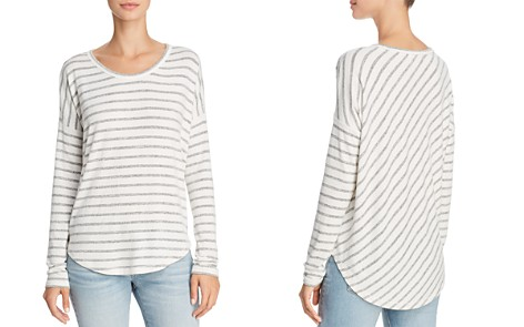 rag & bone/JEAN Drop-Shoulder Striped Tee - Bloomingdale's_2