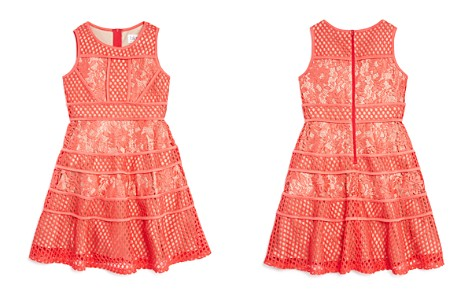 US Angels Girls' Lace & Mesh Dress - Big Kid - Bloomingdale's_2