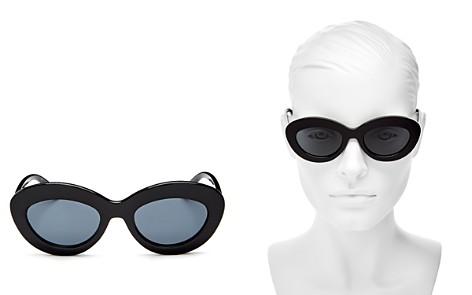 Le Specs Women's Fluxus Round Sunglasses, 49mm - Bloomingdale's_2