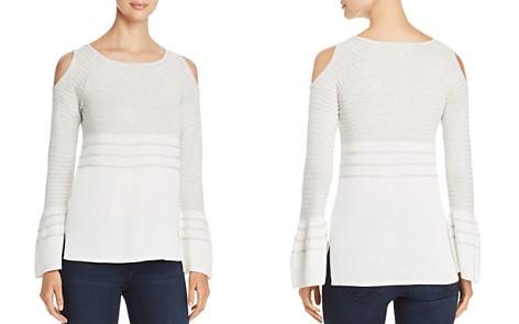 Design History Cold-Shoulder Sweater - Bloomingdale's_2