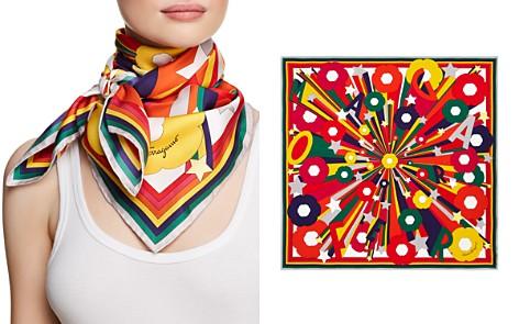 Salvatore Ferragamo Explosion Printed Silk Scarf - Bloomingdale's_2