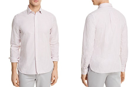 The Men's Store at Bloomingdale's Gingham Long Sleeve Button-Down Shirt - 100% Exclusive_2