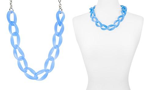"AQUA Lucite Chain Necklace, 21"" - 100% Exclusive - Bloomingdale's_2"