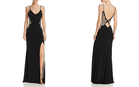 Avery G Embellished Cutout Gown - Bloomingdale's_2