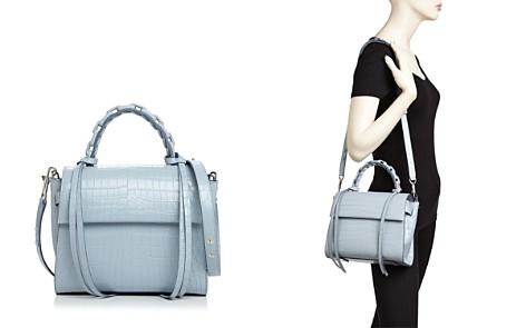 ELENA GHISELLINI Small Top Handle Leather Handbag - Bloomingdale's_2