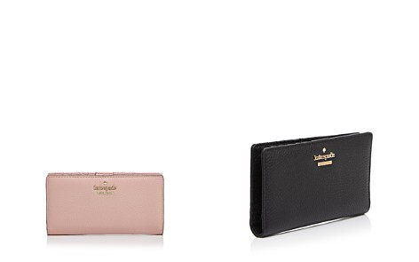 kate spade new york Jackson Street Stacy Pebbled Leather Continental Wallet - Bloomingdale's_2