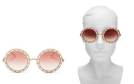 Pared Eyewear Women's Sonny & Cher Oversized Round Sunglasses, 50mm - Bloomingdale's_2