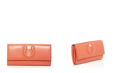 Salvatore Ferragamo Gancio City Leather Continental Wallet - Bloomingdale's_2
