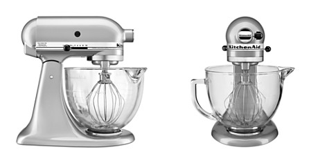 KitchenAid 5-Quart Tilt Head Stand Mixer with Glass Bowl & Flex Edge Beater Model #KSM105GBC - Bloomingdale's_2