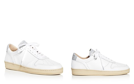 Zespa Women's Dessus Perforated Leather Lace Up Sneakers - Bloomingdale's_2