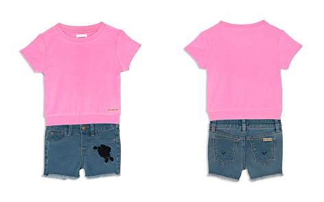 Hudson Girls' Terry Tee & Denim Shorts Set - Baby - Bloomingdale's_2