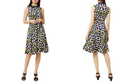 HOBBS LONDON Belinda Dot Print Shirt Dress - Bloomingdale's_2