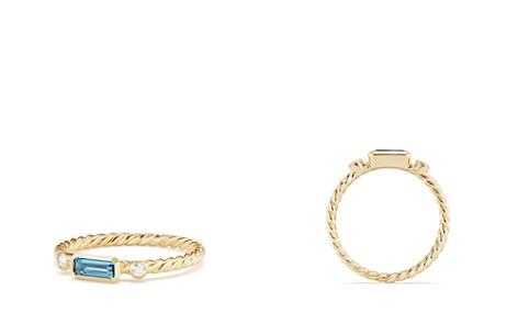 David Yurman Novella Ring in Hampton Blue Topaz with Diamonds - Bloomingdale's_2