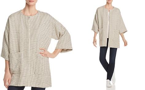 Eileen Fisher Textured Knit Kimono Jacket - Bloomingdale's_2
