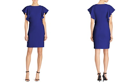 Lauren Ralph Lauren Flutter-Sleeve Dress - Bloomingdale's_2