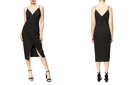 Betsey Johnson Faux-Wrap Crepe Dress - Bloomingdale's_2
