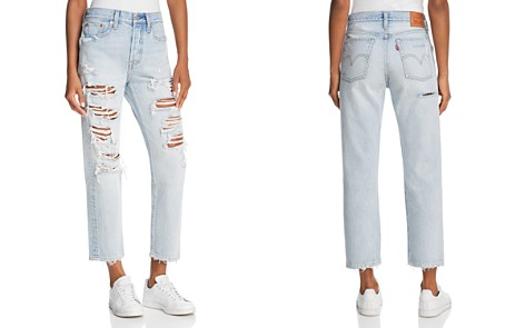 Levi's Wedgie Straight Jeans in Mass Destruction - Bloomingdale's_2