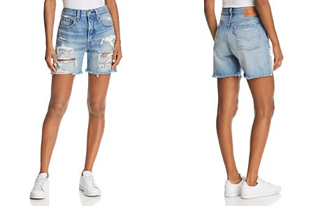 Levi's Indie Denim Shorts in Let it Rip - Bloomingdale's_2