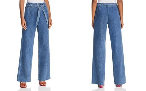 J Brand Tie-Waist Trouser Jeans in Electrify - Bloomingdale's_2