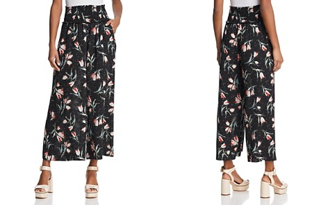 Rebecca Taylor Floral Wide-Leg Pants - Bloomingdale's_2