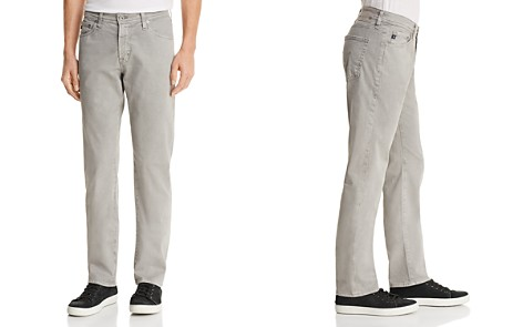 AG Graduate Slim Straight Fit Jeans in Sulfur Platinum - Bloomingdale's_2