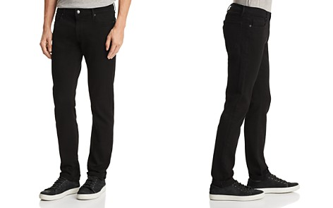 FRAME L'Homme Slim Fit Jeans in Noir - Bloomingdale's_2