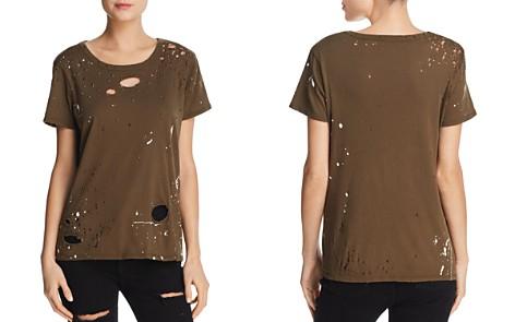 CHASER Paint Splattered Distressed Tee - Bloomingdale's_2