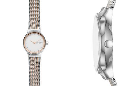 Skagen Freja Rose Gold-Tone Detail Watch, 26mm - Bloomingdale's_2