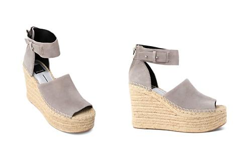 Dolce Vita Women's Straw Suede Platform Wedge Espadrille Sandals - Bloomingdale's_2