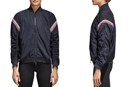 adidas by Stella McCartney Train Ruched-Sleeve Track Jacket - Bloomingdale's_2
