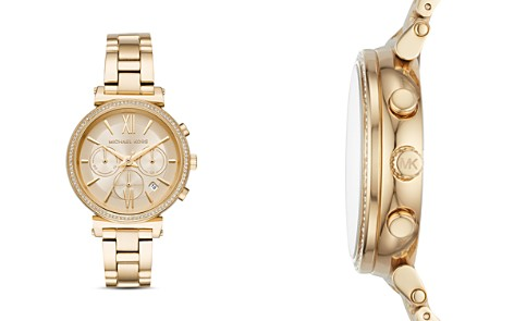 Michael Kors Gold-Tone Sofie Chronograph, 39mm - Bloomingdale's_2