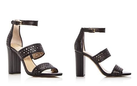 Botkier Women's Gemi Perforated Leather Block Heel Sandals - Bloomingdale's_2