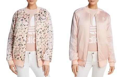 adidas Originals Reversible Floral Print Bomber Jacket - Bloomingdale's_2