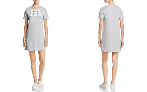 Lisa Todd Lace-Up Tee Dress - Bloomingdale's_2