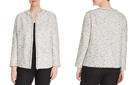 Lafayette 148 New York Plus Kennedy Tweed Jacket - Bloomingdale's_2