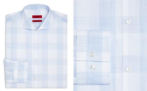 HUGO Macro Check Slim Fit Dress Shirt - Bloomingdale's_2