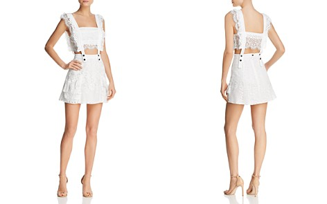 For Love & Lemons Tati Two-Piece Lace Dress - Bloomingdale's_2