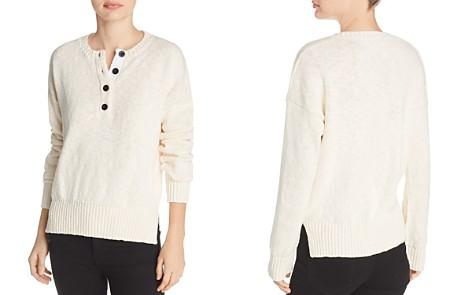Derek Lam 10 Crosby Henley Sweater - Bloomingdale's_2