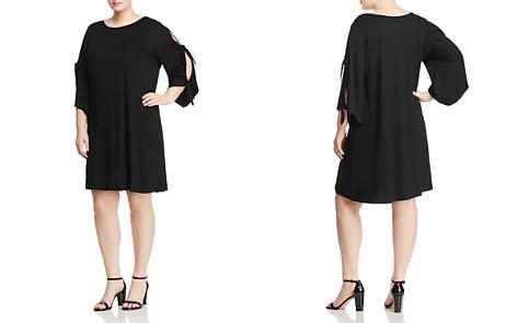 Cupio Plus Tie-Sleeve Dress - 100% Exclusive - Bloomingdale's_2