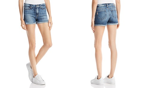 PAIGE Jimmy Jimmy Denim Shorts in Haley Destructed - Bloomingdale's_2