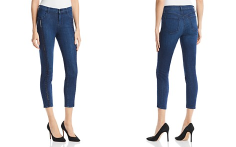 J Brand Alana Ladder Lace Jeans in Indigo Ladder Lace - Bloomingdale's_2