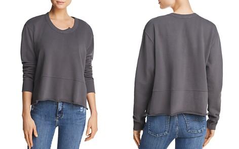 Wilt Raw-Edge Boxy Sweatshirt - Bloomingdale's_2
