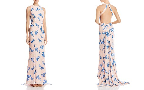 Jarlo Blanche Floral Column Gown - 100% Exclusive - Bloomingdale's_2